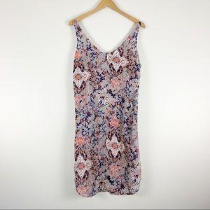 CAbi Fresco #5049 Slip Dress Abstract Print Size S